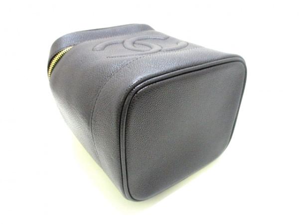 CHANEL(シャネル) バニティバッグ美品  キャビアスキン A01998 黒 4