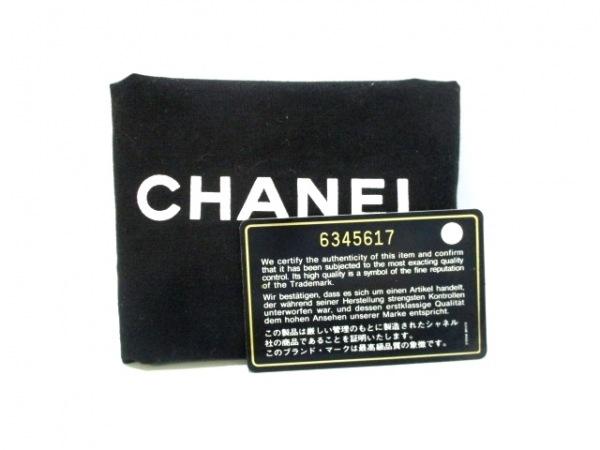 CHANEL(シャネル) バニティバッグ美品  キャビアスキン A01998 黒 8