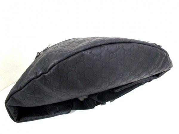 GUCCI(グッチ) ウエストポーチ シマライン 246409 黒 4