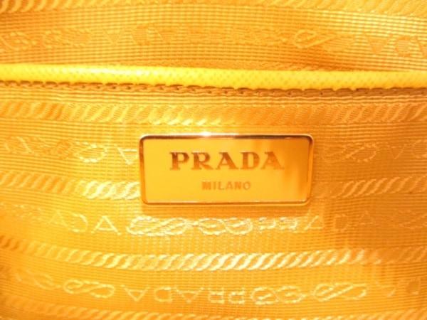 PRADA(プラダ) ハンドバッグ - BL0812 イエロー 6