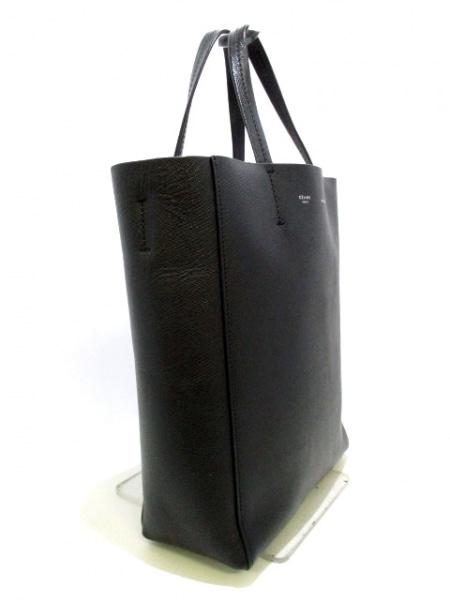 CELINE(セリーヌ) トートバッグ バーティカルカバスモール 黒 レザー 2