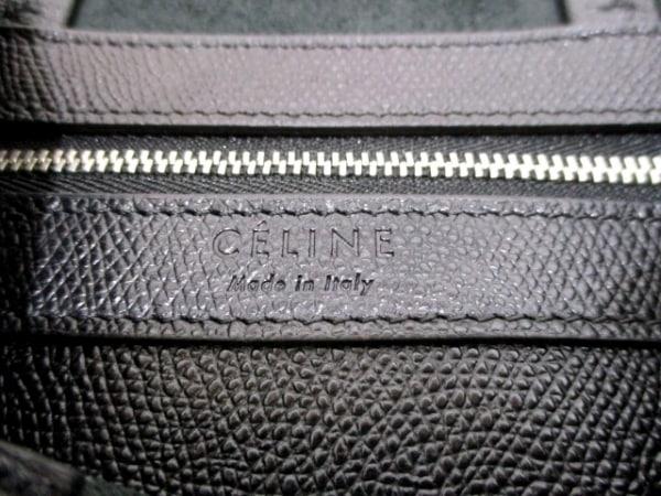 CELINE(セリーヌ) トートバッグ バーティカルカバスモール 黒 レザー 6