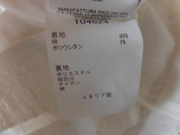 MSGM(エムエスジィエム) カットソー サイズ40 M レディース 白 4