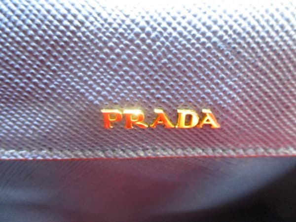 PRADA(プラダ) トートバッグ美品  ダブルバッグ ネイビー 6
