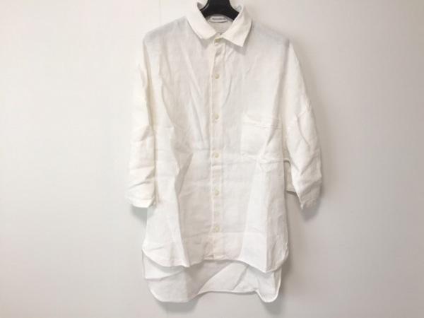 マディソンブルー 半袖シャツブラウス サイズS レディース美品  白 0