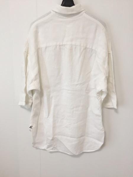 マディソンブルー 半袖シャツブラウス サイズS レディース美品  白 2
