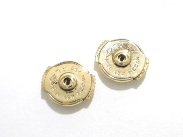 カルティエ ピアス美品  B8027100 K18スリーカラー×ダイヤモンド 5