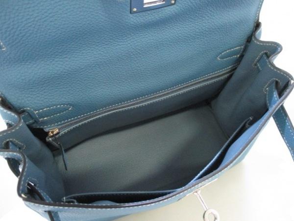 HERMES(エルメス) ハンドバッグ美品  ケリー28 ブルージーン トゴ 2