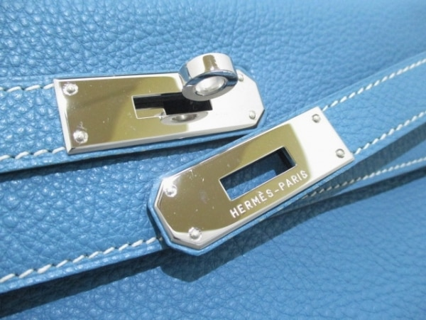 HERMES(エルメス) ハンドバッグ美品  ケリー28 ブルージーン トゴ 3