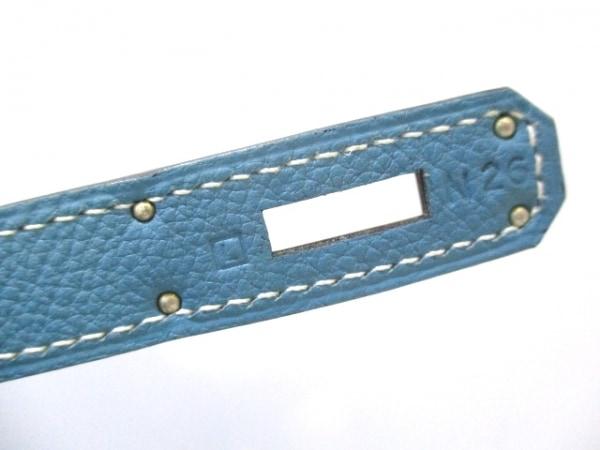 HERMES(エルメス) ハンドバッグ美品  ケリー28 ブルージーン トゴ 4