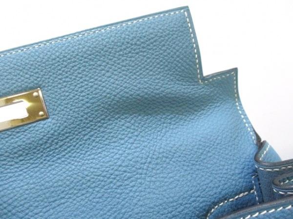 HERMES(エルメス) ハンドバッグ美品  ケリー28 ブルージーン トゴ 7