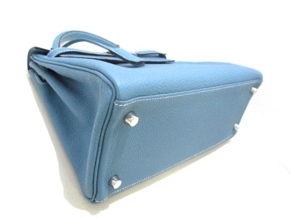 HERMES(エルメス) ハンドバッグ美品  ケリー28 ブルージーン トゴ 8