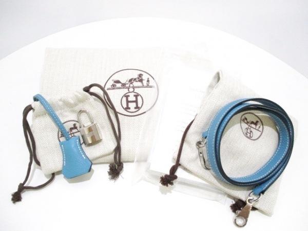 HERMES(エルメス) ハンドバッグ美品  ケリー28 ブルージーン トゴ 9