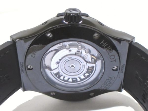 ウブロ 腕時計 アエロフュージョン ムーンフェイズ ブラックマジック 3
