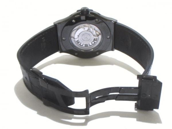 ウブロ 腕時計 アエロフュージョン ムーンフェイズ ブラックマジック 5