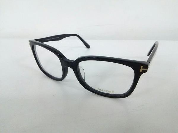 TOM FORD(トムフォード) メガネ TF5377F クリア×黒 プラスチック 0