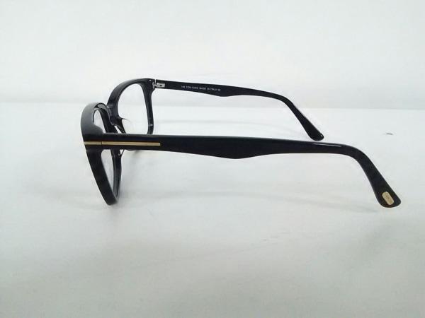 TOM FORD(トムフォード) メガネ TF5377F クリア×黒 プラスチック 2