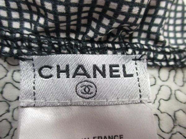 CHANEL(シャネル) アンサンブル サイズ40 M レディース美品  黒×白 4