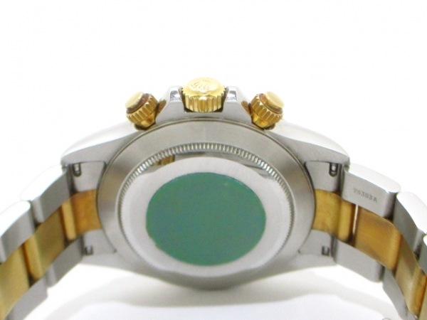 ロレックス 腕時計 デイトナ 16523 メンズ SS×K18YG/13コマ 黒 3
