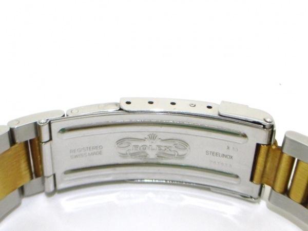 ロレックス 腕時計 デイトナ 16523 メンズ SS×K18YG/13コマ 黒 4