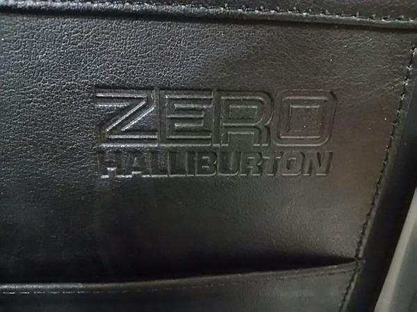 ゼロハリバートン アタッシュケース シルバー 金属素材 6