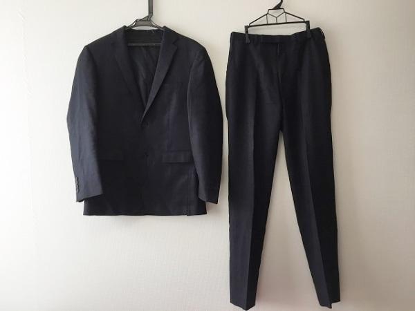 バーバリーブラックレーベル シングルスーツ メンズ ダークネイビー 0