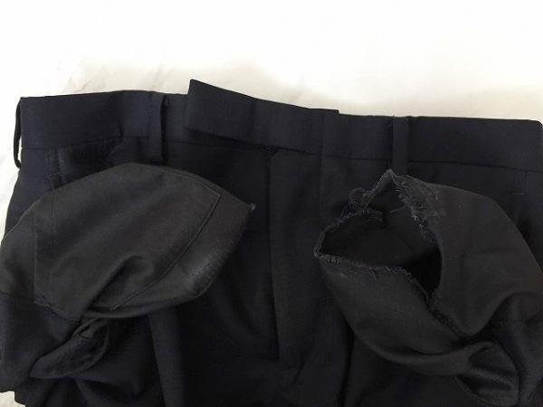 バーバリーブラックレーベル シングルスーツ メンズ ダークネイビー 9