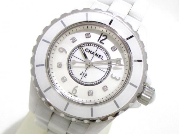 CHANEL(シャネル) 腕時計 J12 H2422 レディース ホワイトシェル 0