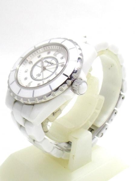 CHANEL(シャネル) 腕時計 J12 H2422 レディース ホワイトシェル 2