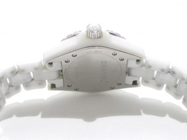 CHANEL(シャネル) 腕時計 J12 H2422 レディース ホワイトシェル 3