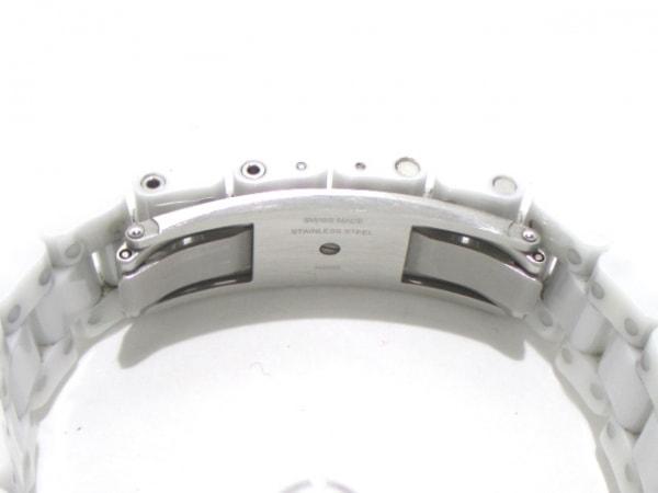 CHANEL(シャネル) 腕時計 J12 H2422 レディース ホワイトシェル 4