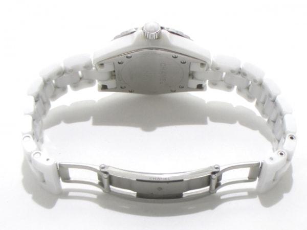 CHANEL(シャネル) 腕時計 J12 H2422 レディース ホワイトシェル 5