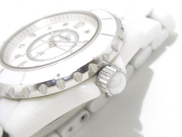 CHANEL(シャネル) 腕時計 J12 H2422 レディース ホワイトシェル 7