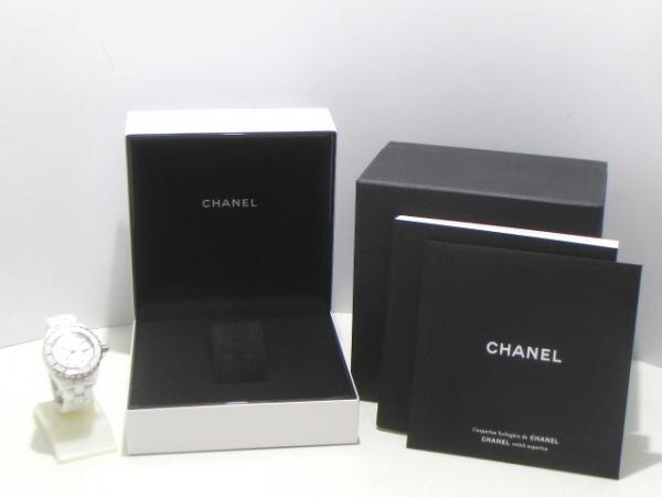 CHANEL(シャネル) 腕時計 J12 H2422 レディース ホワイトシェル 8