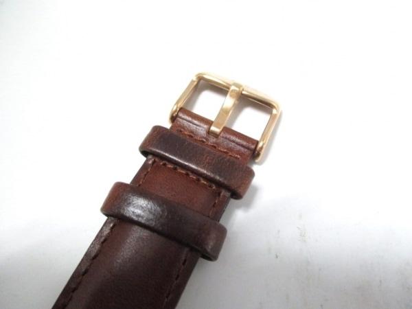 ダニエルウェリントン 腕時計美品  - レディース 革ベルト 白 5