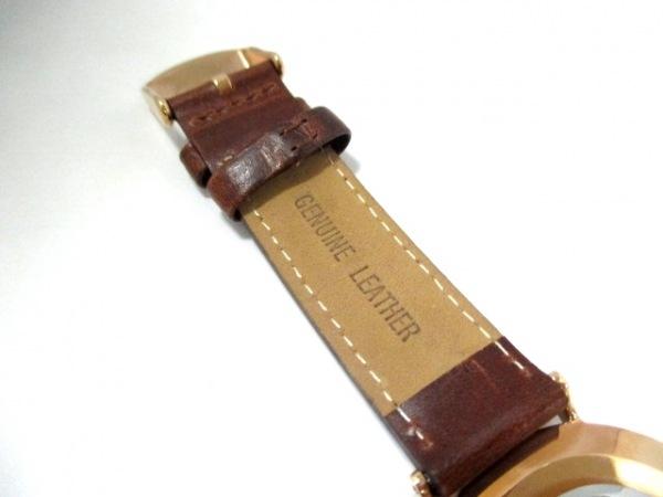 ダニエルウェリントン 腕時計美品  - レディース 革ベルト 白 7