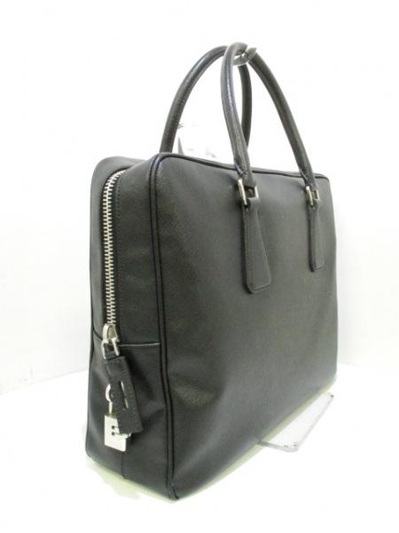 PRADA(プラダ) ビジネスバッグ美品  - VS0305 黒 レザー 2