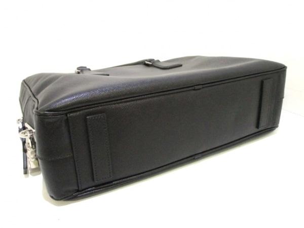 PRADA(プラダ) ビジネスバッグ美品  - VS0305 黒 レザー 4