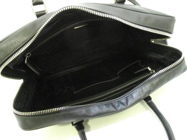 PRADA(プラダ) ビジネスバッグ美品  - VS0305 黒 レザー 5