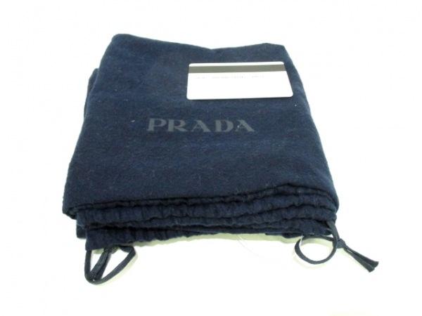 PRADA(プラダ) ビジネスバッグ美品  - VS0363 ネイビー レザー 8