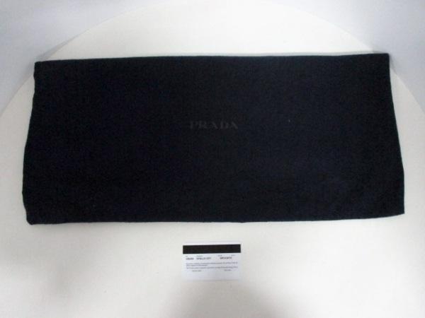 PRADA(プラダ) ビジネスバッグ美品  - VS0305 ダークブラウン レザー 9