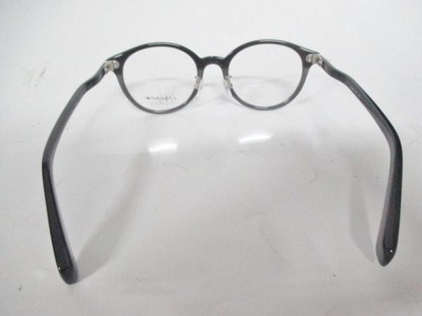 yohjiyamamoto(ヨウジヤマモト) メガネ新品同様  黒 プラスチック 3