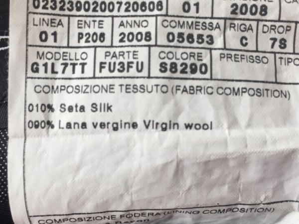ドルチェアンドガッバーナ シングルスーツ サイズ48 M メンズ 4