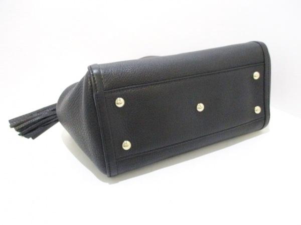 GUCCI(グッチ) トートバッグ ソーホー 336751 黒 レザー 4