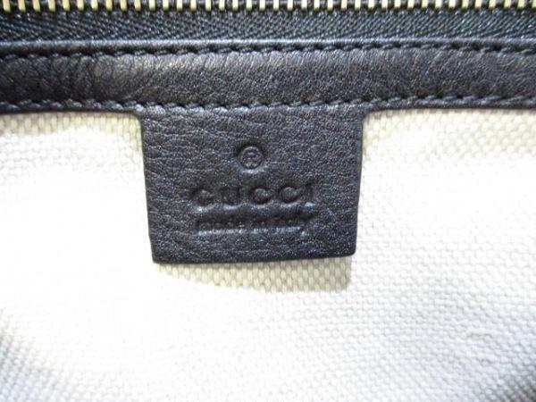 GUCCI(グッチ) トートバッグ ソーホー 336751 黒 レザー 6