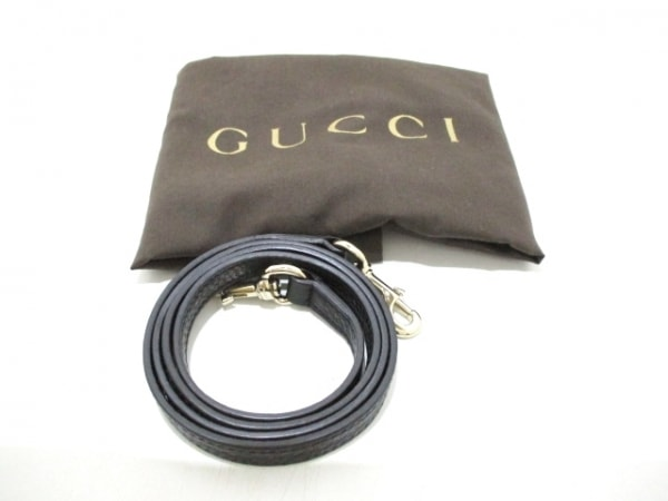 GUCCI(グッチ) トートバッグ ソーホー 336751 黒 レザー 9