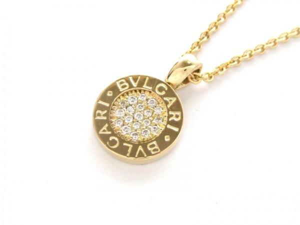 ブルガリ ネックレス美品  ブルガリブルガリ K18YG×ダイヤモンド 0