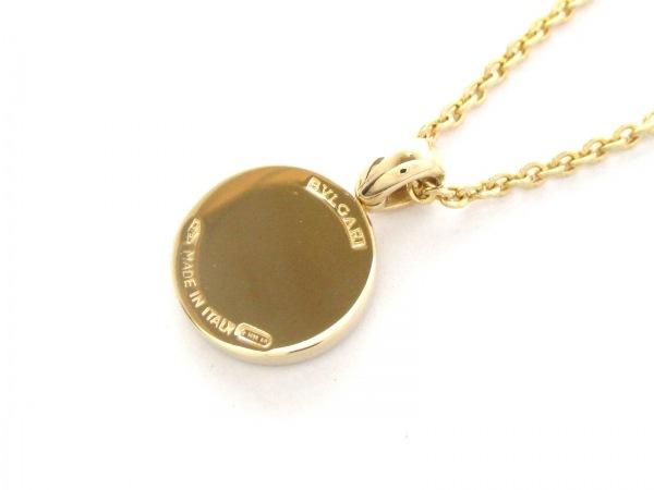 ブルガリ ネックレス美品  ブルガリブルガリ K18YG×ダイヤモンド 3