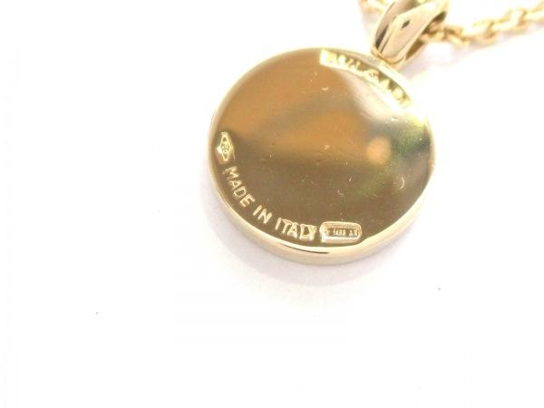 ブルガリ ネックレス美品  ブルガリブルガリ K18YG×ダイヤモンド 6