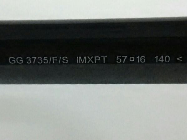 グッチ サングラス シェリー/ダブルG GG3735/F/S プラスチック 5